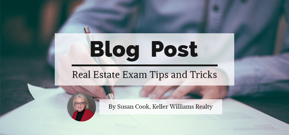 Rea Estate Exam Tips and Tricks by Susan Cook